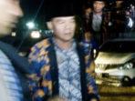 Dirwan Mahmud Sampai di Mapolda Bengkulu