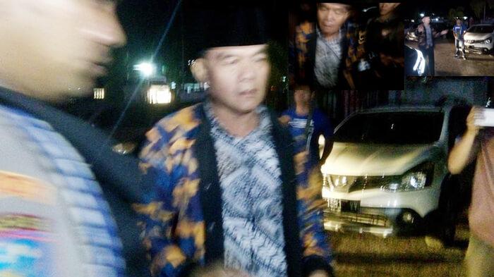 Dirwan mahmud tiba di Mapolda Bengkulu