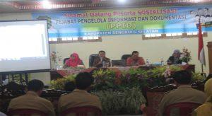 KIP Bengkulu Sosialisasi PPID Di Bengkulu Selatan