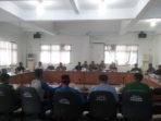 6 perwakilan GPPBS saat berdialog dengan Dewan BS di Hari Anti Korupsi