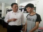 KZ, pelaku Jambret saat diintrogasi Kasat Reskrim