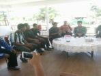 Pengurs BPD dan Warga saat menghadap Bupati Dirwan Mahmud