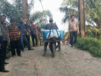 Kadis PUPR pantau Jembatan Gantung Desa Sukarami Kedurang