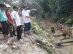 Kadis PUPR pantau Pembangunan Irigasi Lubuk Napalan Kedurang