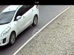 Mobil R3 warnah putih yang di gunakan pelaku