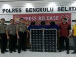Tiga TSK pencuri Solar Sel milik BMKG