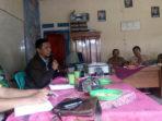 Rapat musyawarah digelar di Balai Desa, Desa Tanjung Aur II Pino Raya