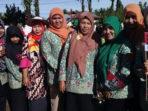 Semangat, Peserta pawai HAB Kemenag Bengkulu Selatan 2018