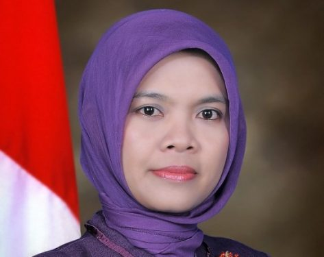 Roseka Yanti SP M.Si anggota KPU BS